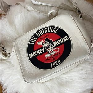 Mickey Mouse White Loungefly Bag